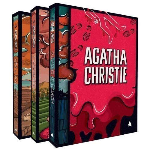 Box Agatha Christie com 3 Livros