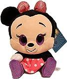 Disney Glitzies - Peluche de peluche (15 cm, 15 cm), diseño de Minnie Mouse