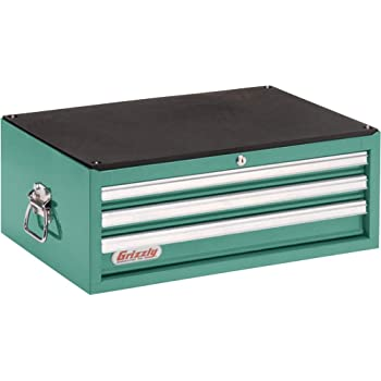 Grizzly Industrial H5653 - 3 Drawer Full Depth Tool Chest