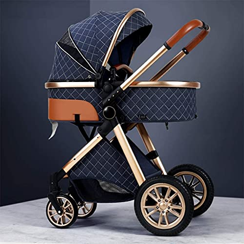 Yuansr Light Strollers,Baby Strollers,high-Performance Strollers,Luxury Strollers,Aluminum Strollers,Compact Folding Strollers,Basket Strollers (Color : A)