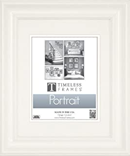 Timeless Frames Lauren Portrait Wall Photo Frame, 16 by 20-Inch, Pure White
