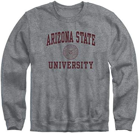 Ivysport Arizona State University Sun Devils Crewneck Sweatshirt Heritage Charcoal Grey X Large product image