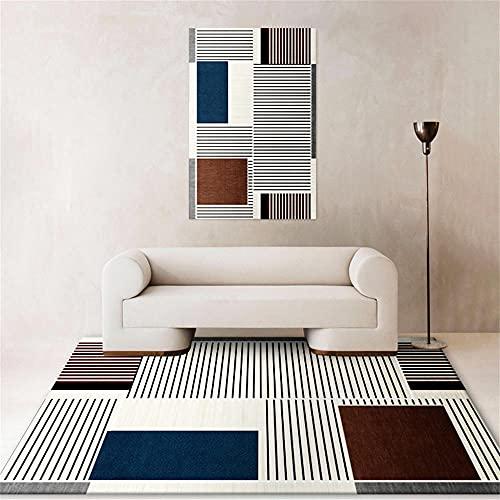Home Accessoires Voor Slaapkamer Kamer Decoratie Tapijt Woonkamer Moderne geometrische tapijt vierkante lijn ontwerp…
