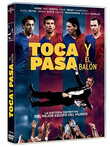 Toca y pasa el balón DVD