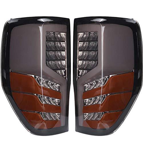 WPFC Kfz-LED-Hintere Rücklicht-Montage Rot Für Ford Ranger Raptor T6 / T7 / PX / MK1 / MK2 / Wildtrak 2012 2013...