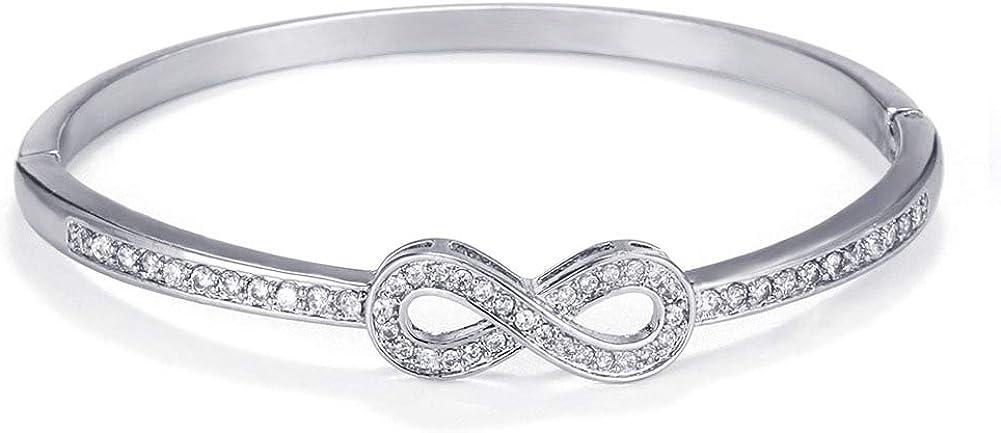 Almusen Cubic Zirconia Bracelet Charm Bracelet Women's Jewelry S