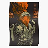 Julielindh Jacket Movie Metal Full Home Decor Wandkunst