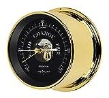 Maximum Weather Instruments Predictor Barometer – Brass case, Black dial