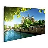 Bild auf Leinwand Notre Dame Paris Frankreich Bilder