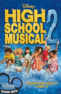Pop Culture Graphics High School Musical 2 Poster B 27x40 Zac Efron Vanessa Anne Hudgens Ashley Tisdale