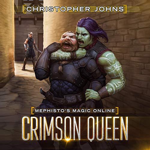 Couverture de Crimson Queen: A Fantasy LitRPG Series