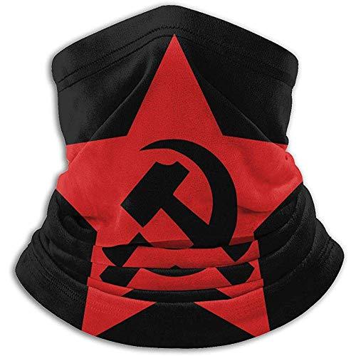 Comunista URSS Martillo Hoz Estrella Cuello Calentador