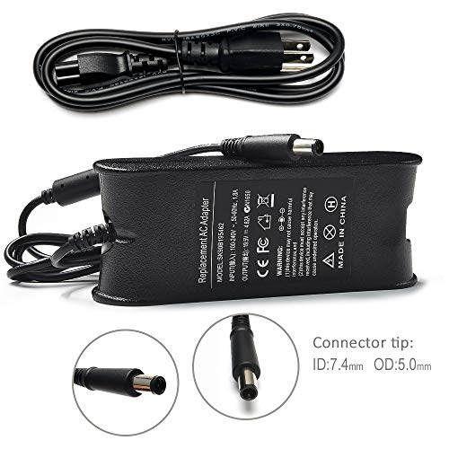 Mejor 90W AC Adapter Charger Replacement for DELL Latitude E7440 E7450 E6400 E6410 E6420 E6430 E6430s E6440 E6510 E6520 E6530 D610 D620 D630 D820 D830 5590 7404 5424 Rugged Power Cord Laptop crítica 2020