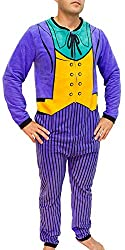DC Comics The Joker Purple Costume Adult Union Suit