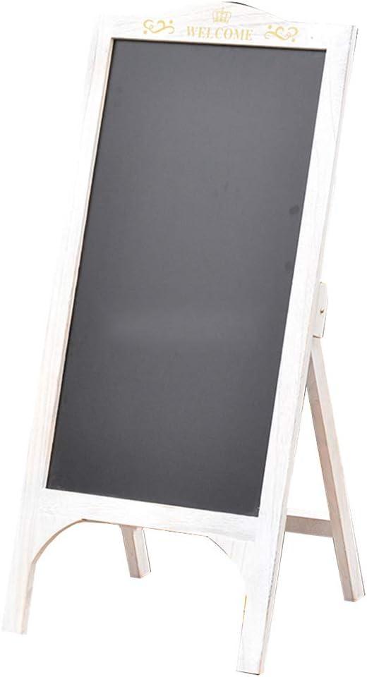 LIANGJUN Message Board Chalkboards Signs Solid Wood Retro Bracke