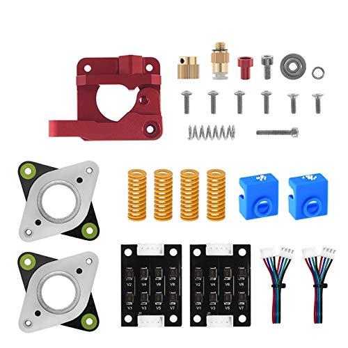 3D-utskrift till tillbehör 3D-skrivardelar uppgraderingspaket Spring Silicone Sock Stepper Damper för skrivare Skriv ut i reparationsdelar (Color : CR10 kit)