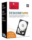 HGST DeskStar NAS 3.5' 4TB 7200 RPM 128MB Cache SATA 6.0Gb/s High-Performance Hard Drive for Desktop NAS Systems Retail Packaging 0S04005