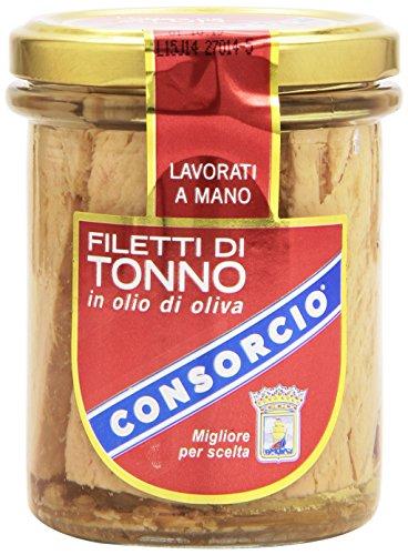 Consorcio Filetti di Tonno in Olio di Oliva, 195g
