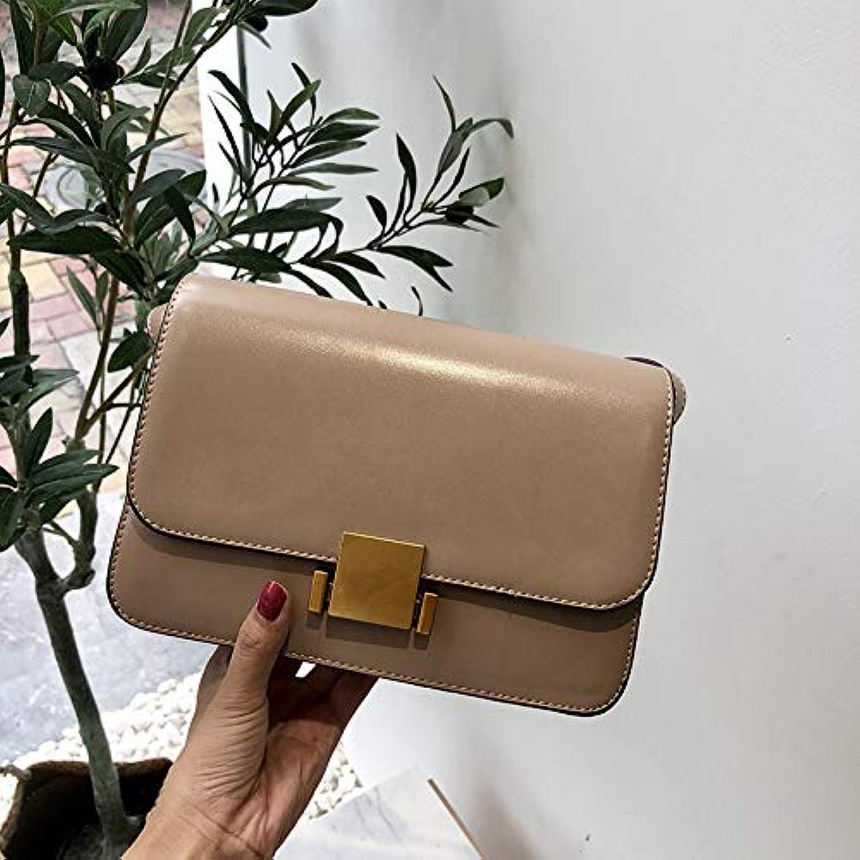 WANGZHAO Satchel Bag, Shoulder Bag, Simple, Retro Lock,A