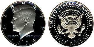 1984 S Gem Proof Kennedy Half Dollar US Coin 1/2 DCAM US Mint