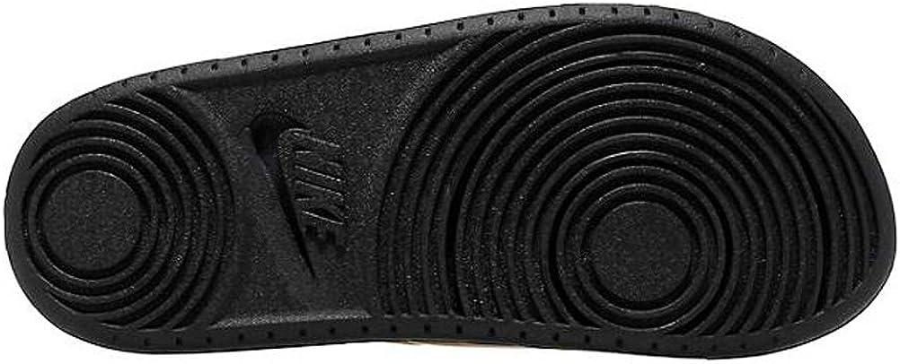 Nike Womens Offcourt Slide Sandal (Met Gold/Black, Numeric_8)