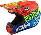 Troy Lee Designs Motocross-Helm SE4 Composite Orange Gr. M