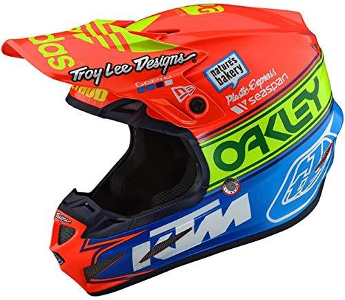 Troy Lee Designs 105672005 Casco Moto Se4 Composite Team Ed 2 In Fibre Composite