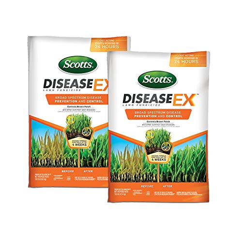 2-Pack Scotts DiseaseEx Lawn Fungicide Only $24.86 (Retail $45.98)