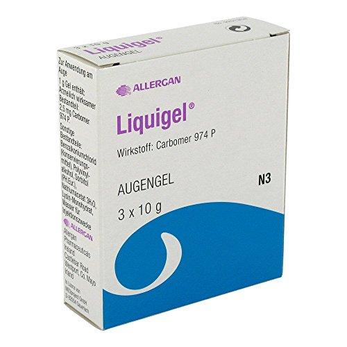 LIQUIGEL Augengel 3X10 g