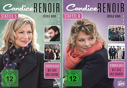 Candice Renoir - Staffel 5+6 im Set - Deutsche Originalware [6 DVDs]