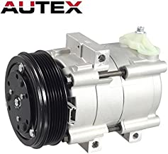 AUTEX AC Compressor & A/C Clutch CO 101510C YCC203 57151 Compatible with F-150 1997-2006 4.2L Compatible with F-150 Heritage 2004 4.2L