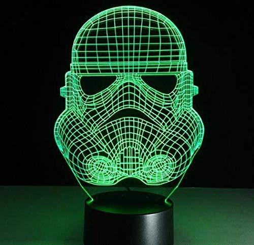 Nachtlampje Optische visualisatie Slide Platform Kleur Verandering Illusie 16 Kleur Nachtlampje Kerstmis Gift 3D Illusie Lamp Nachtlampje Naast Tafellamp 16 Kleuren Auto Veranderende Touch Switch D
