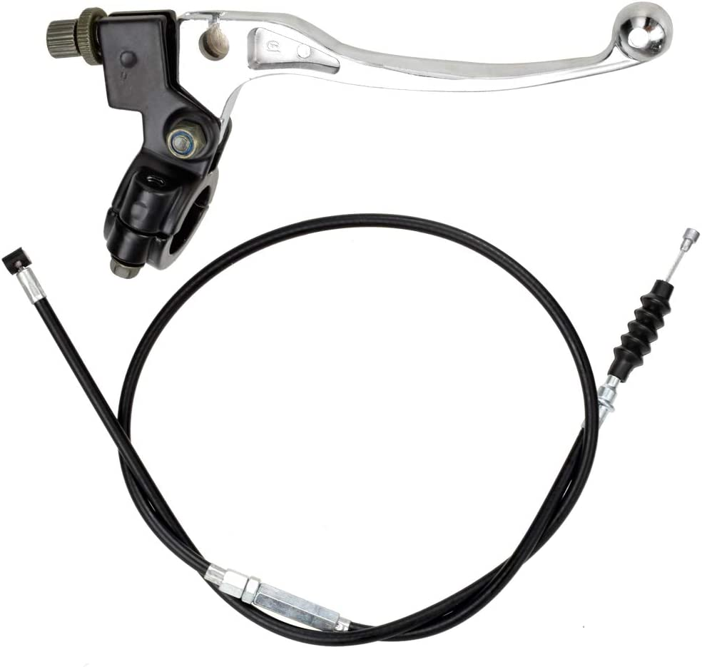 HIAORS 7 8 Inch Handlebar Left and service Lever Clutch Cable Regular dealer wit