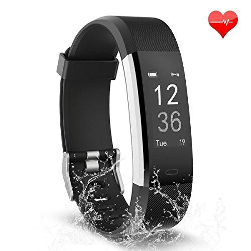 TwobeFit Fitness Tracker, Waterproof Activity...