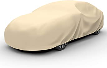 Budge A-4 Protector IV Car Cover Tan Size 4: Fits Sedans up to 19' 4 Layer Reliable Weather Protection, Waterproof, Dustproof, UV Treated