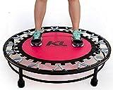 Mini Cama Elástica Rosa Jump Profissional 150 Kg + Dvd