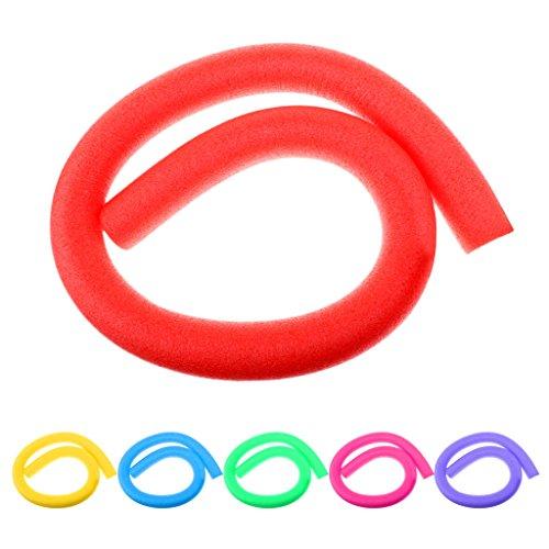 Milageto 3 Piezas de Fideos de Piscina de Colores Suaves LDPE de 59 Pulgadas para Flotadores de Lago