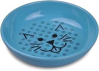 Van Ness, Dish Cat Ecoware Blue 8 Ounce