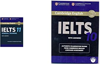 Cambridge English: IELTS 11 General Training with Answers (With Audio CD) + Cambridge IELTS 10 Student's Book with Answers (Book & CD) (Set of 2 Books)