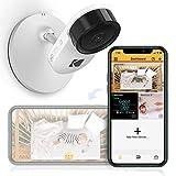 Caméra pour bébé KODAK Cherish C120 avec application mobile- caméra pour bébé de haute résolution, avec possibilité de zoomer à distance, audio bidirectionnel