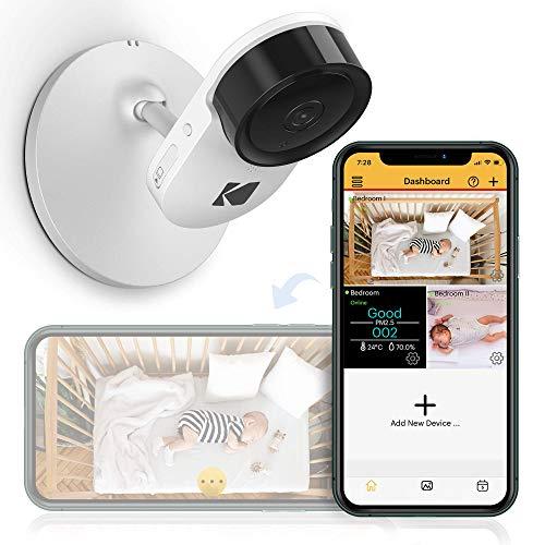 Kodak Cherish C120 Video Baby Camera, with App and Two Way Talk, Comfort...