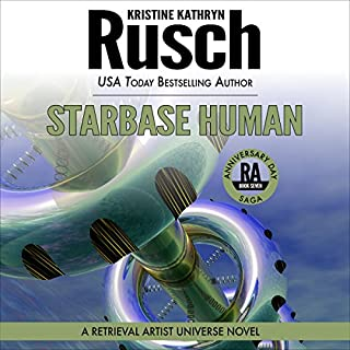 Starbase Human     Anniversary Day Saga, Book 7 (Retrieval Artist Universe)              By:                                                                                                                                 Kristine Kathryn Rusch                               Narrated by:                                                                                                                                 Jay Snyder                      Length: 9 hrs and 42 mins     87 ratings     Overall 4.5