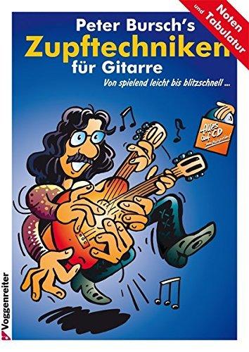 Peter Burschs Zupftechniken f??r Gitarre. by Peter Bursch (2000-11-30)