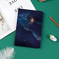 iPad Pro 11 ケース 2018 マグネットス吸着式 オートスリープ機能 スリム 軽量 シルク手触り 高級感 iPad Pro 11インチ専用 スマートカバースターフィールドを背景とした深宇宙アストラル無限宇宙星間装飾