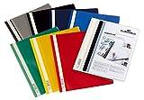 DURABLE Hunke & Jochheim Angebotshefter DURAPLUS®, strapazierfähige Folie, DIN A4, farbig sortiert