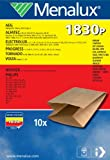 menalux 900196230 sacchetti per aspirapolvere, carta