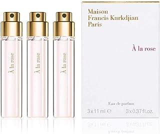 Maison Francis Kurkdjian A La Rose Eau De Parfum Globe Trotter Travel Spray Refill (3 x 11ml)