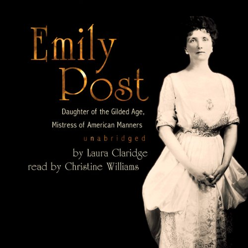 Emily Post audiobook cover art