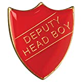 Stellvertretender Shield'Head Boy-Logo, Rot, groß, 3 cm, GW, SR2