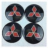 RVTYR Für HUBCAP-Kennzeichnung Metallfahrzeug-Reifenradabdeckung Hub dekorative Aufkleber angeschlossene Standard 65mm...